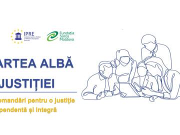 Invitație la evenimentul public de prezentare a Cărții Albe a Justiției